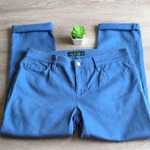 🛳🦋 LRL size 6 cropped Lauren jeans